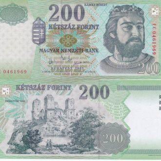 Hungary Венгрия - 200 Forint 2003 UNC JavirNV