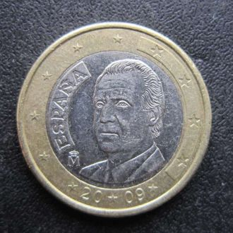 1 евро Испания 2009