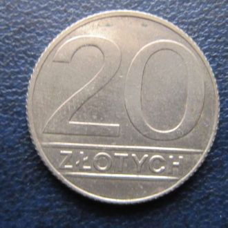 20 злотых Польша 1990
