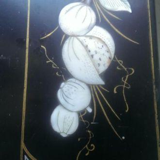 М Подставка под календарь старый Китай перламутр