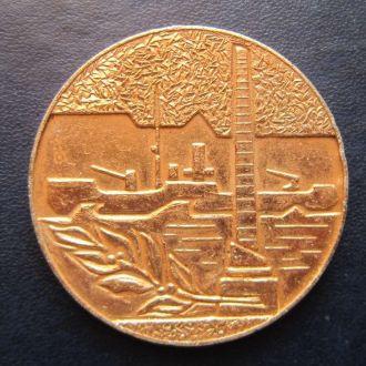 настольная медаль Красная Азовская флотилия 1970