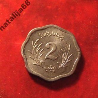 Пакистан монета 2 пайса 1975 год !