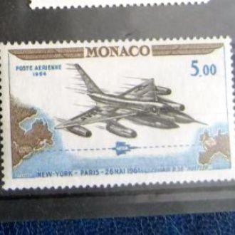 авиа почта авиация самолеты истребители монако
