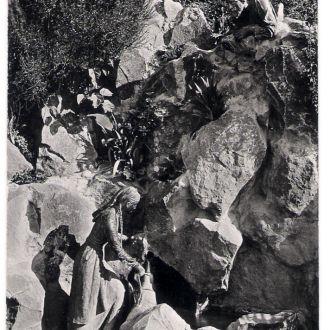 Крым Мисхор Фонтан Арзы и Али-Баба 1962 г