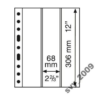 Лист-обложка GRANDE на 3 вертикальных строки 3VC