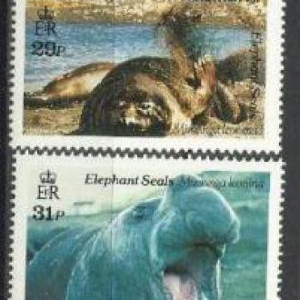 Южная Джорджия и Южные Сендвичевы о-ва 1991 фауна