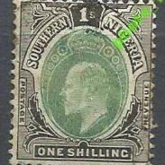 Южная Нигерия 1904 король 1м.гаш.