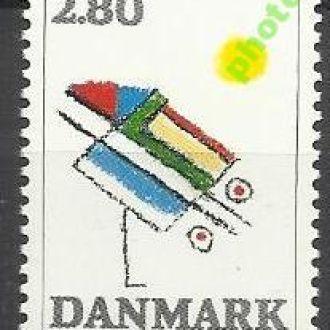 Дания 1987 живопись 1м.**