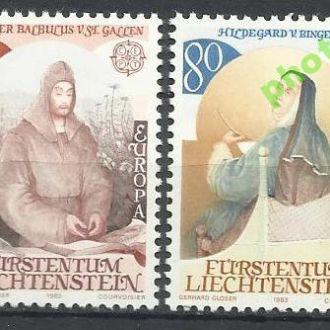 Лихтенштейн 1983 Европа СЕПТ бенедиктинцы 2м.**