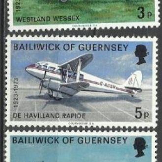 Гернси 1973 транспорт авиация 5м.**
