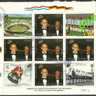 Парагвай 1989 футбол олимпиада персоны Клб КПД+зак