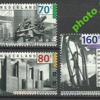 Нидерланды 1993 Европа СЕПТ живопись 3м.**