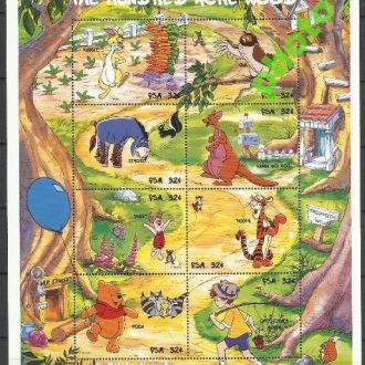 Микронезия 1998 Дисней Винни Пух Клб**