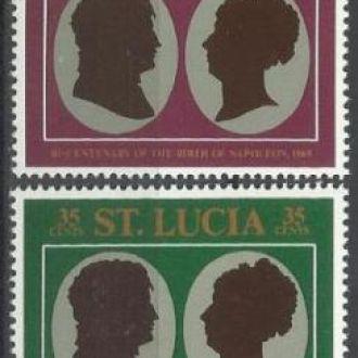 Сент Люсия 1969 Наполеон 4м.**