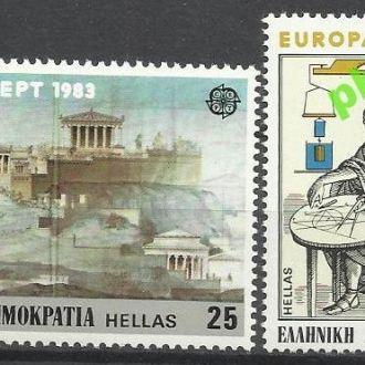 Греция 1983 Европа СЕПТ техника 2м.**