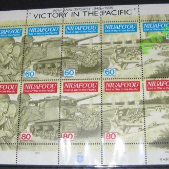 Ниуафу 1995 транспорт корабли авиация Победа Клб**