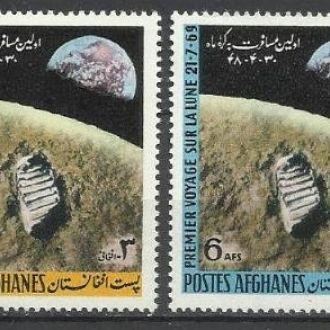 Афганистан 1970 астрономия космос Луна 4м.**