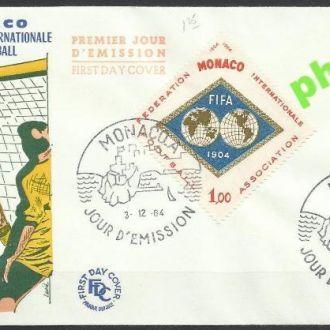 Монако 1964 футбол ФИФА 1м.КПД