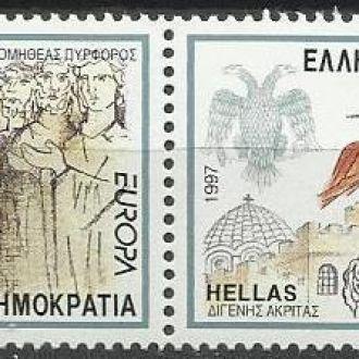Греция 1997 Европа СЕПТ легенды 2м.**
