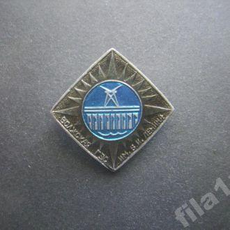 значок Волжская ГЭС им Ленина