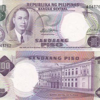 Philippines Филиппины 100 Piso 1969 147a s. A aUNC