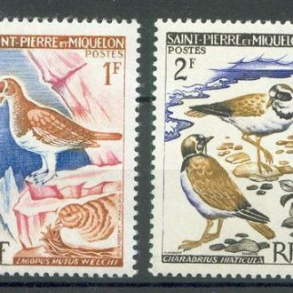 Сент Пьер и Микелон 1963 фауна птицы 4м.**