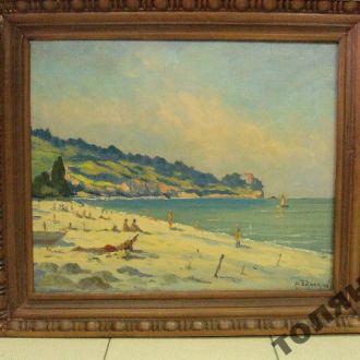 картина пейзаж пляж барсамов