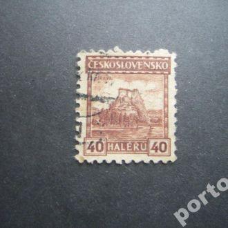 марка Чехословакия 1926-27 Орава 40 гел