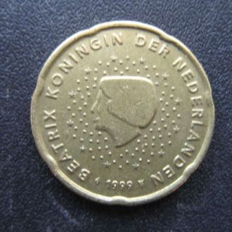 20 евроцентов Нидерланды 1999