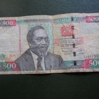Кения. 500 шиллингов 2010г.