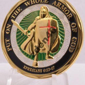 монета доспехи бога - морская пехота Сша