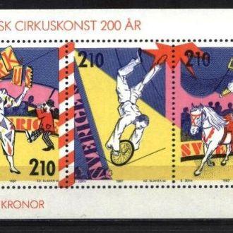 Швеция 1987 MNH