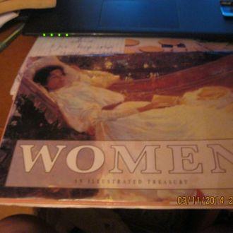 книга на английском языке ЖЕНЩИНА WOMEN картины