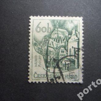 марка Чехословакия 1954 Наход 700 лет