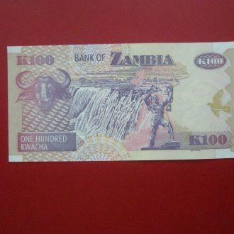 Замбія 2008 рiк 100 квача UNC.