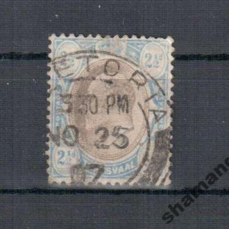 1904 Трансвааль ЭДУАРД кц 5евро колонии (90)