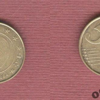 Бельгия 5 евроцентов 2004