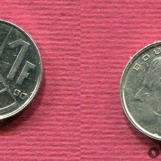 Бельгия. 1 франк 1990 Belgiё