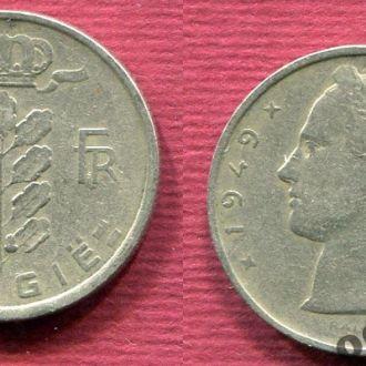 Бельгия 5 франков 1949 Belgiё