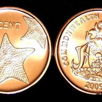 Багамские о-ва 1 цент 2009