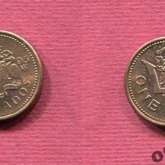 Барбадос 1 цент 1996