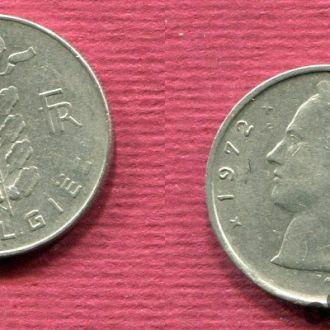 Бельгия. 1 франк 1972 Belgiё