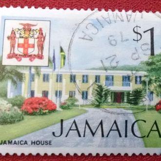 марки Ямайка архитектура с 1 гривны