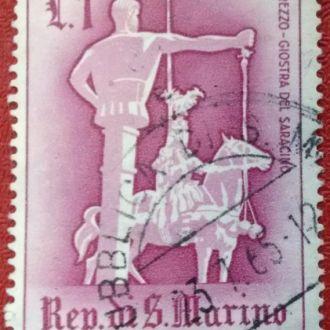 марки Сан Марино памятник