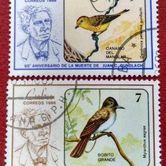 марки Куба фауна птицы 2 шт с 1 гривны