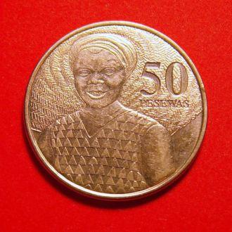 Гана 50 песев 2007 г. UNC!!!