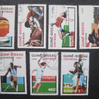 Гвинея-Бисау  1988   lux  Cпорт