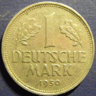 1 марка 1950 D ФРГ