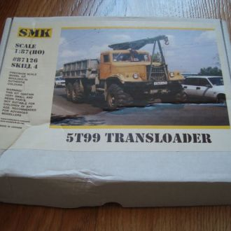 SMK - 87126 - Кран на базе КрАЗ 5T99 - 1:87