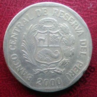 Перу,1 соль,2000 г.